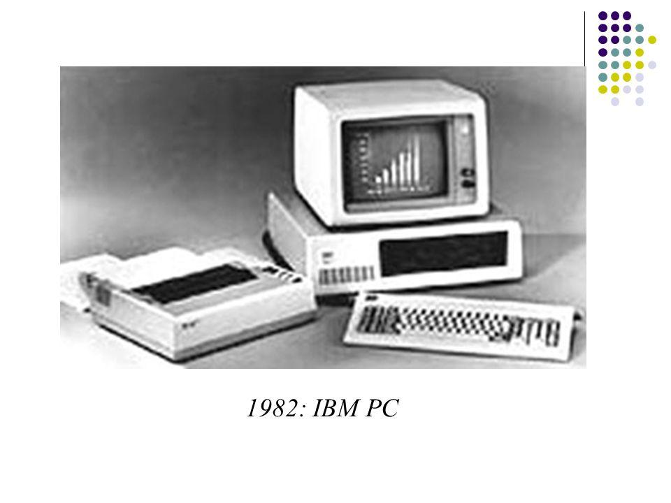1982: IBM PC