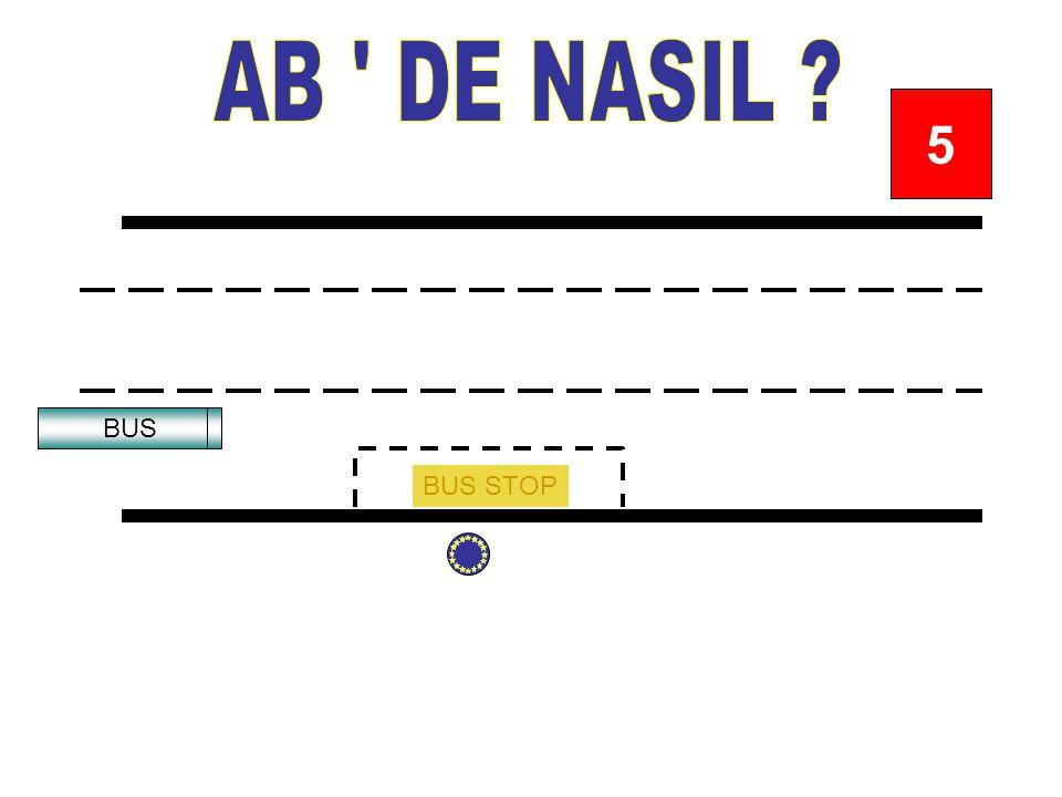BUS STOP BUS 12345