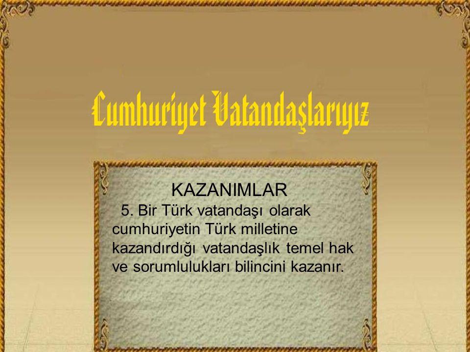 KAZANIMLAR 5.