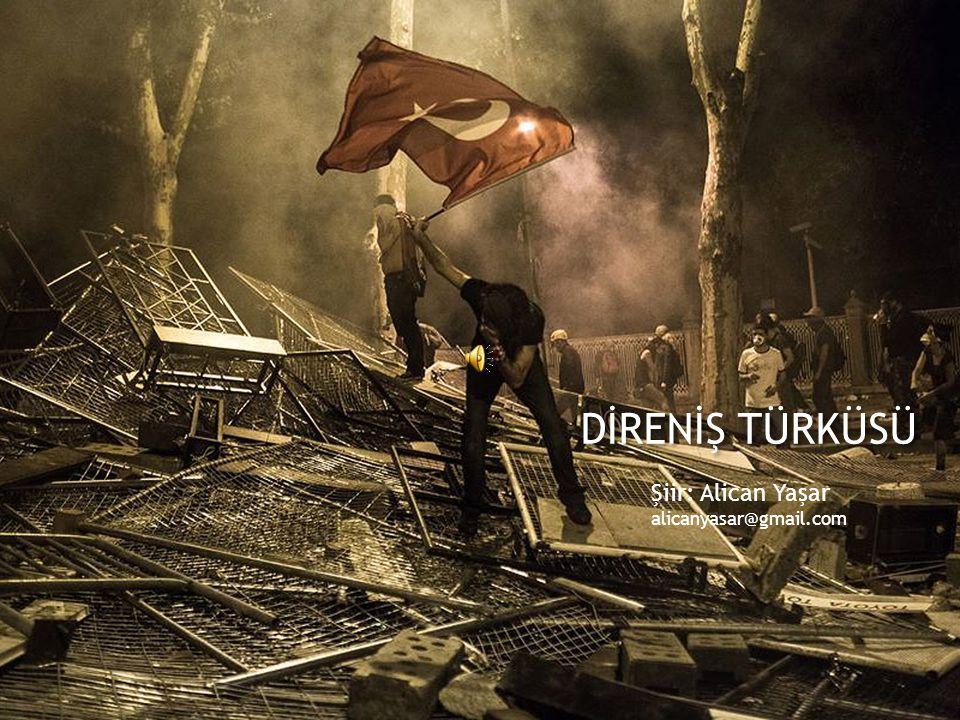 DİRENİŞ TÜRKÜSÜ Şiir: Alican Yaşar alicanyasar@gmail.com