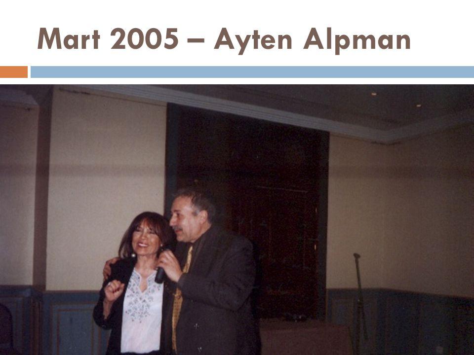 Mart 2005 – Ayten Alpman