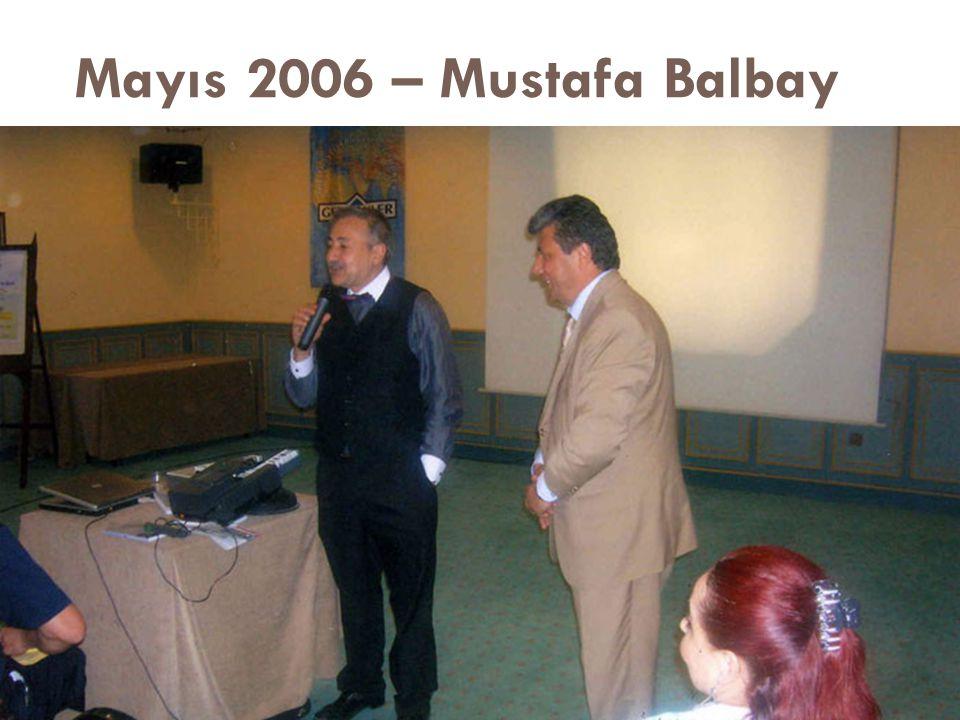 Mayıs 2006 – Mustafa Balbay