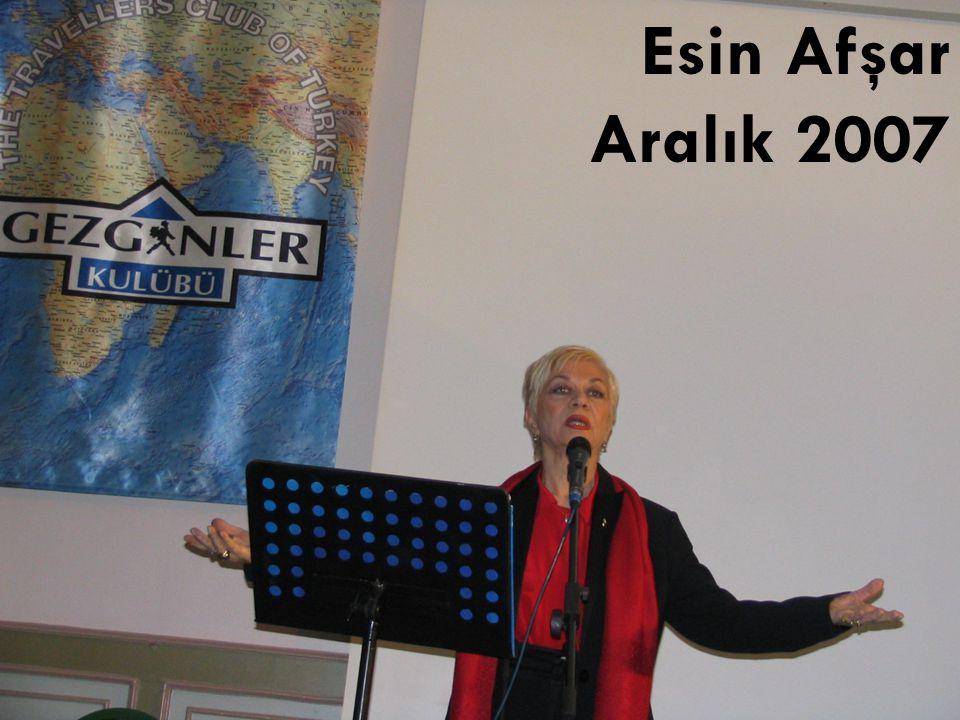Esin Afşar Aralık 2007