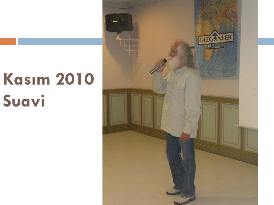 Kasım 2010 Suavi