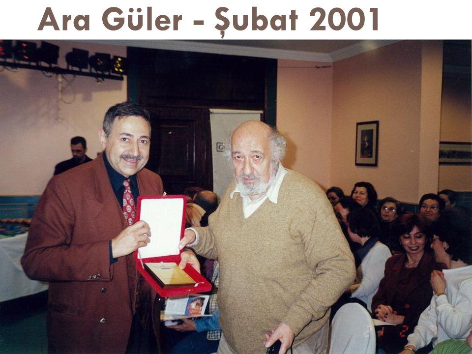 Ara Güler - Şubat 2001