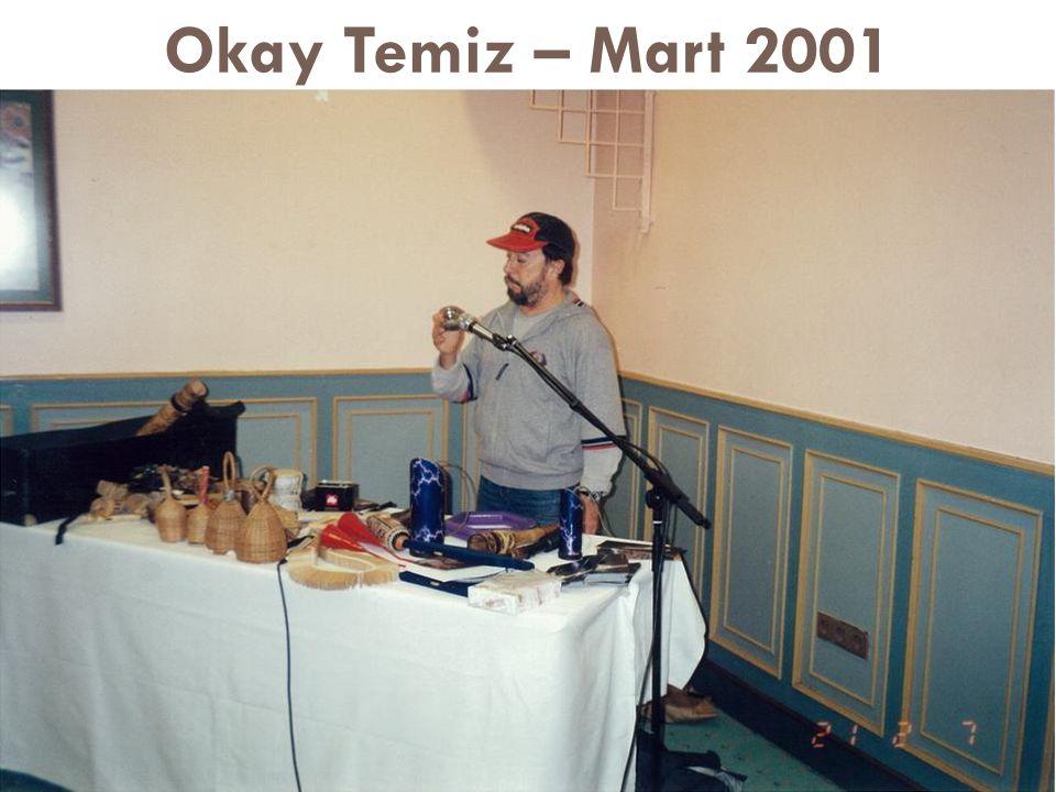 Okay Temiz – Mart 2001