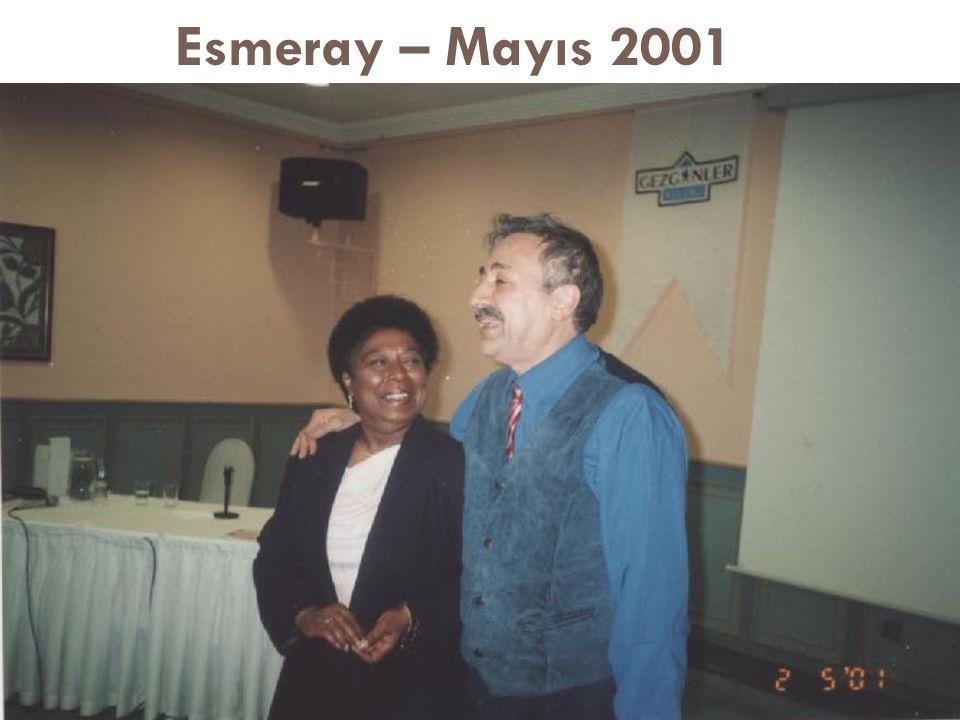 Esmeray – Mayıs 2001