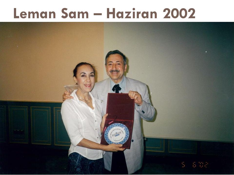 Leman Sam – Haziran 2002