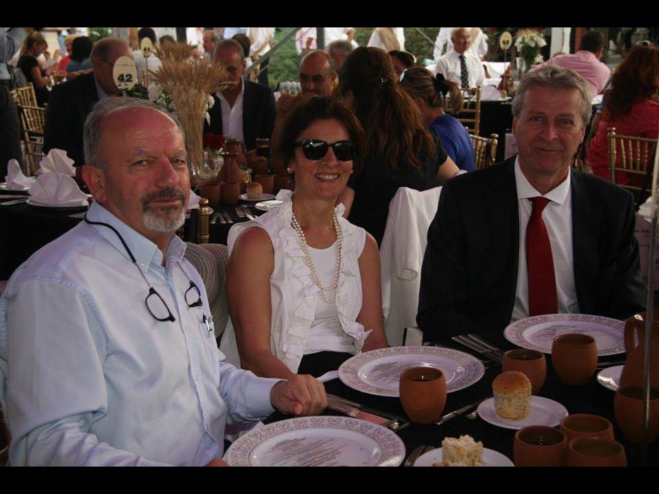 Yemek saati yaklaştıkça heyecan arttı… Beklenilenden daha çok misafirin katılımı bizleri onurlandırdı.