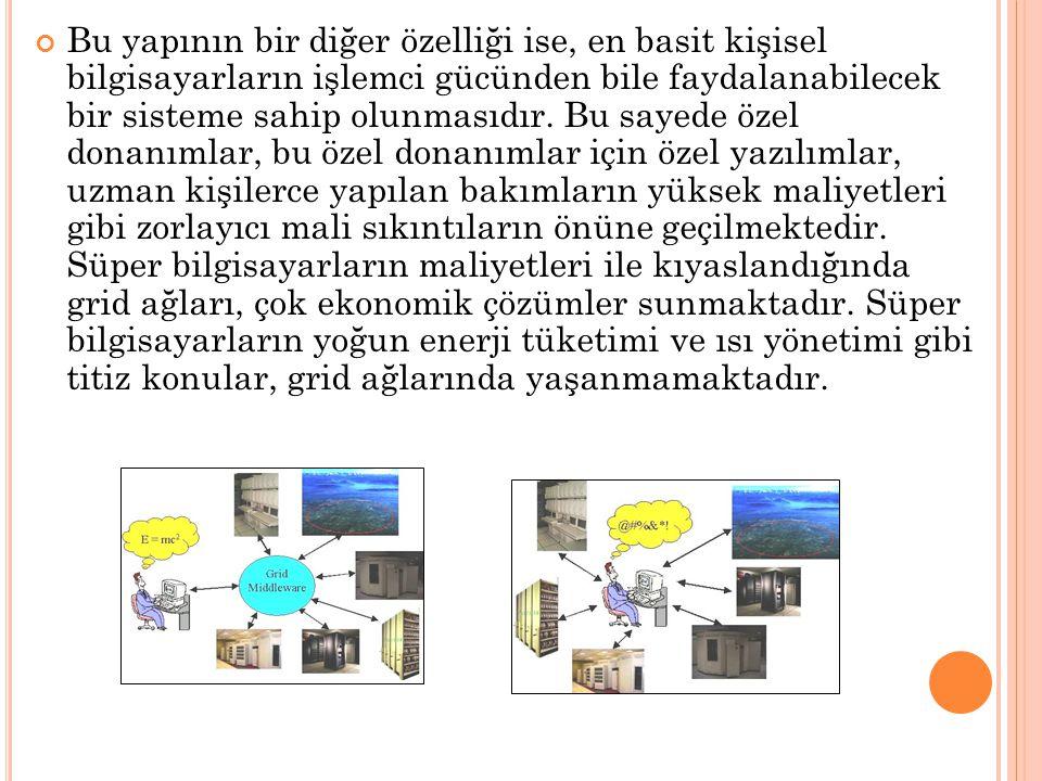Bu yapının bir diğer özelliği ise, en basit kişisel bilgisayarların işlemci gücünden bile faydalanabilecek bir sisteme sahip olunmasıdır. Bu sayede öz
