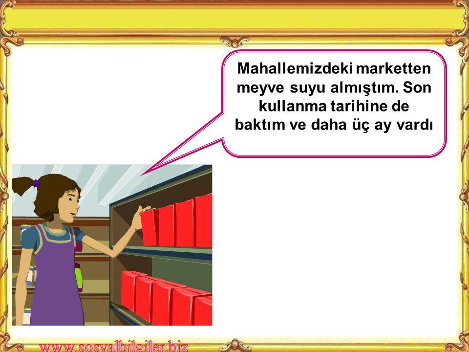 A) Maddi durumu iyi olmayan Mert'in, istediği eğitimi alabilmek için yardım derneklerine başvurması B) Aldığı bilgisayar bozuk çıkan Ayşe Hanım'ın, bozuk bilgisayar sattığını kabul etmeyen mağaza sahibini yetkili birimlere dilekçeyle şikâyet etmesi C) Marketten yeni satın aldığı bir ürünün tüketim tarihinin geçmiş olduğunu fark eden Murat Bey'in, o ürünü çöpe atması D) Ses sanatçısı Gülay'ın, çıkardığı albümün korsan satışını yapanları mahkemeye vermesi Aşağıdaki kişilerden hangisinin davranışı, karşılaştığı bir sorunu hak ve sorumlulukları doğrultusunda çözdüğüne örnek olmaz.