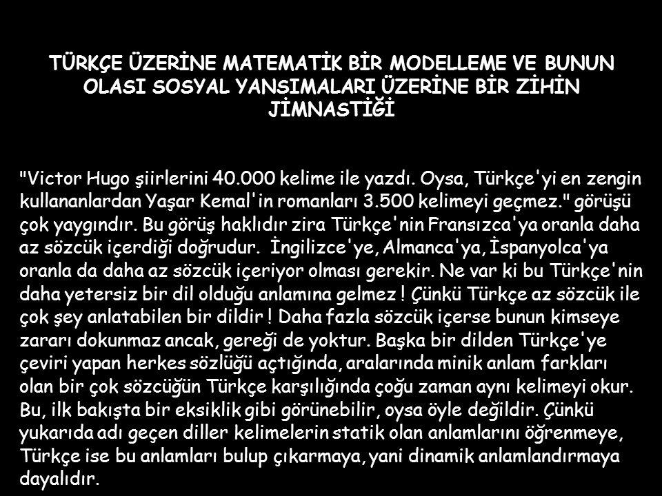 """Başından beri Türk dili ile yakından ilgilenen Atatürk'ün """"millet"""" tanımı içinde dilin çok önemli bir yeri vardır. Ona göre millet, dil, kültür ve ülk"""