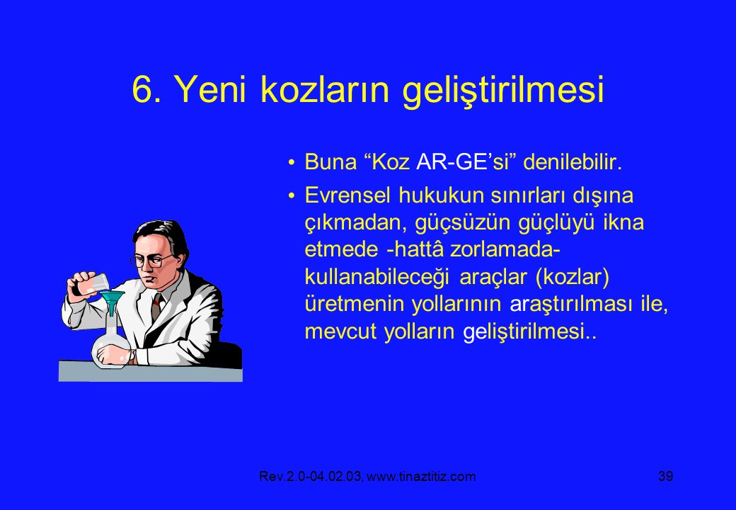 Rev.2.0-04.02.03, www.tinaztitiz.com39 6.