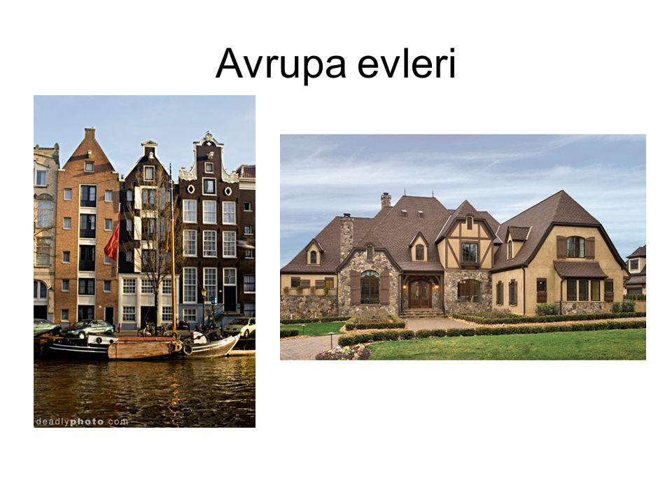 Avrupa evleri