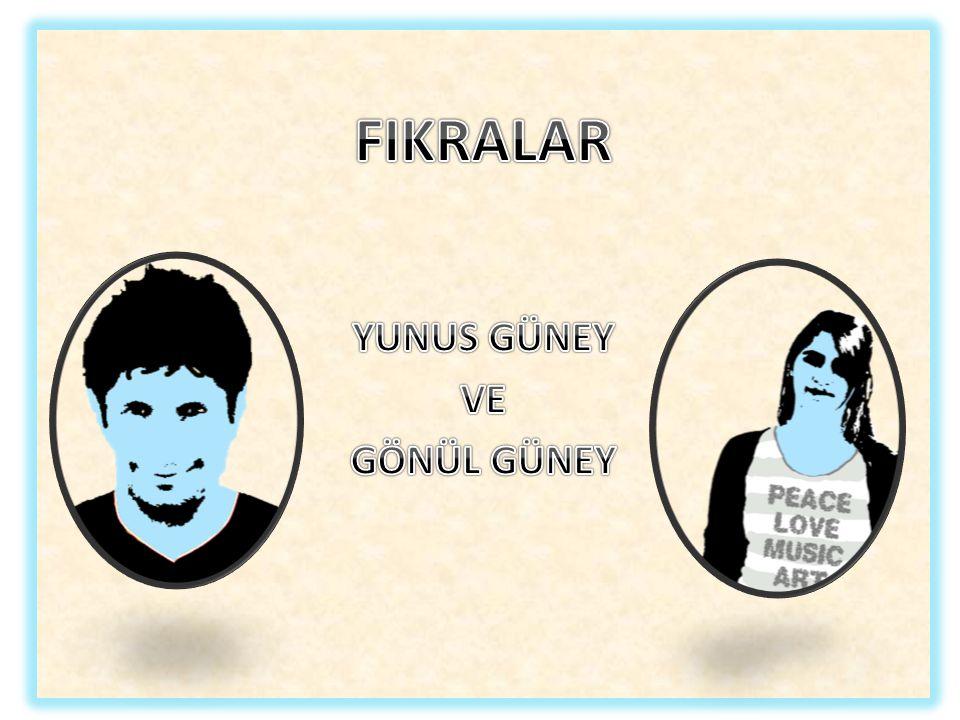 Antika Komsusu Ahmet Bey i bahcesinde yalniz otururken goren Temel sordu: -Yalniz misin, hanim yok mu.