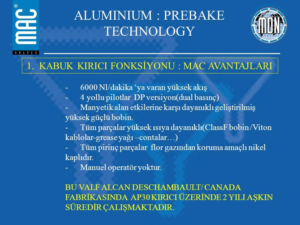 ALUMINIUM : PREBAKE TECHNOLOGY 1.