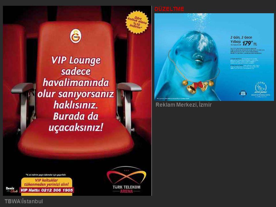 TBWA\İstanbul DÜZELTME Reklam Merkezi, İzmir