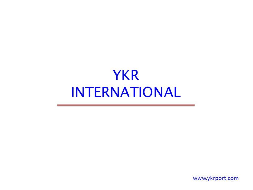 YKR INTERNATIONAL www.ykrport.com