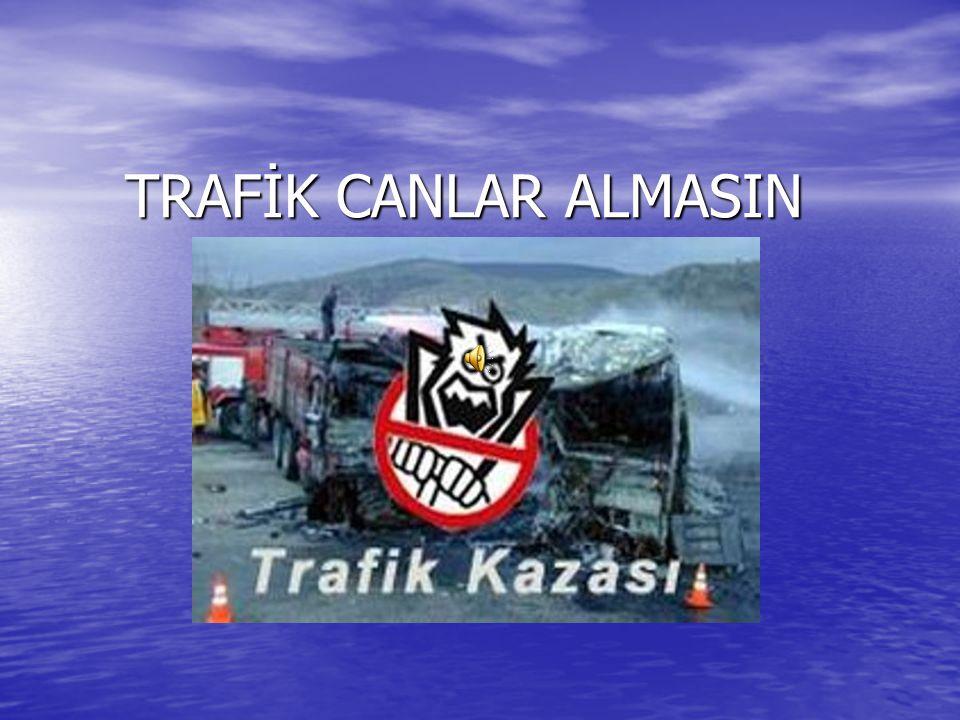 TRAFİK CANLAR ALMASIN