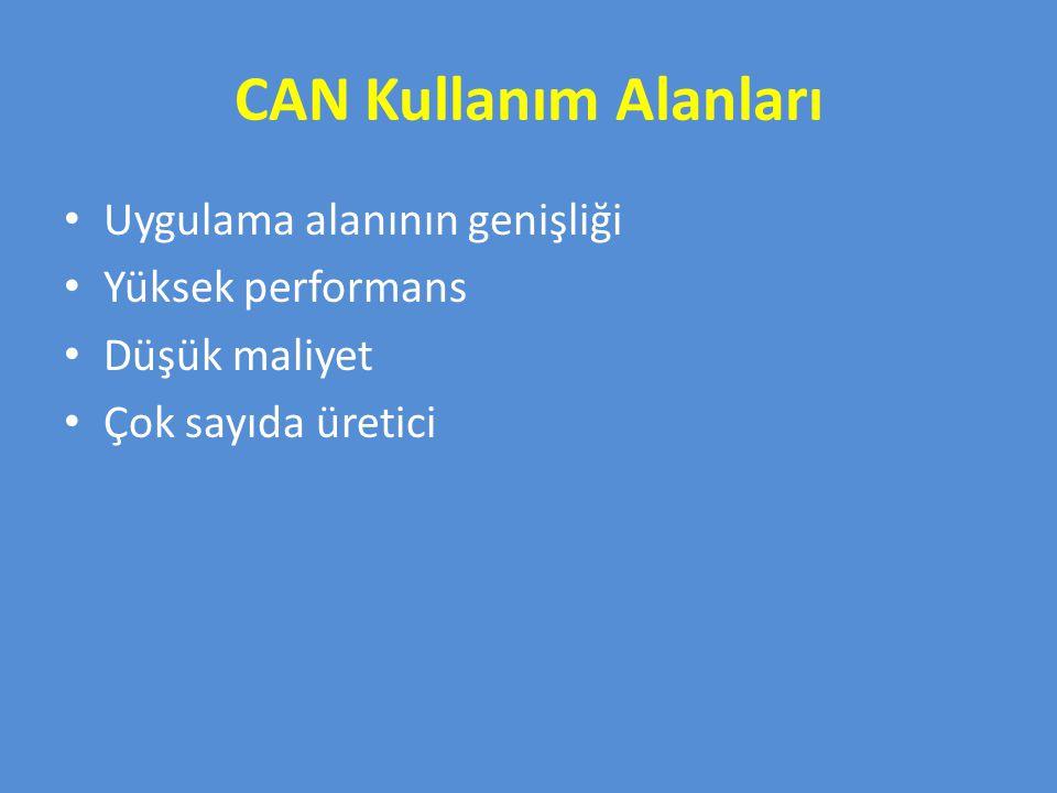 TTCAN sadece güvenilir mesaj zamanlaması sağlamaz, aynı zamanda mevcut bant genişliğinin etkili kullanımını da sağlar.