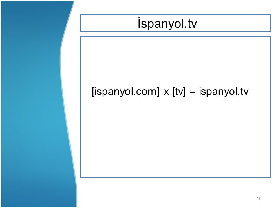 10 [ispanyol.com] x [tv] = ispanyol.tv İspanyol.tv