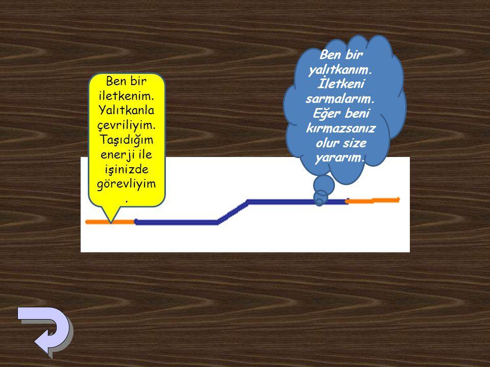 Etkinliğimizde, iletkenin direncini iletken uzunluğu ile doğru orantılı olmasından yararlandık. Nikel-Krom telin uzunluğu artırıldıkça direncide artar