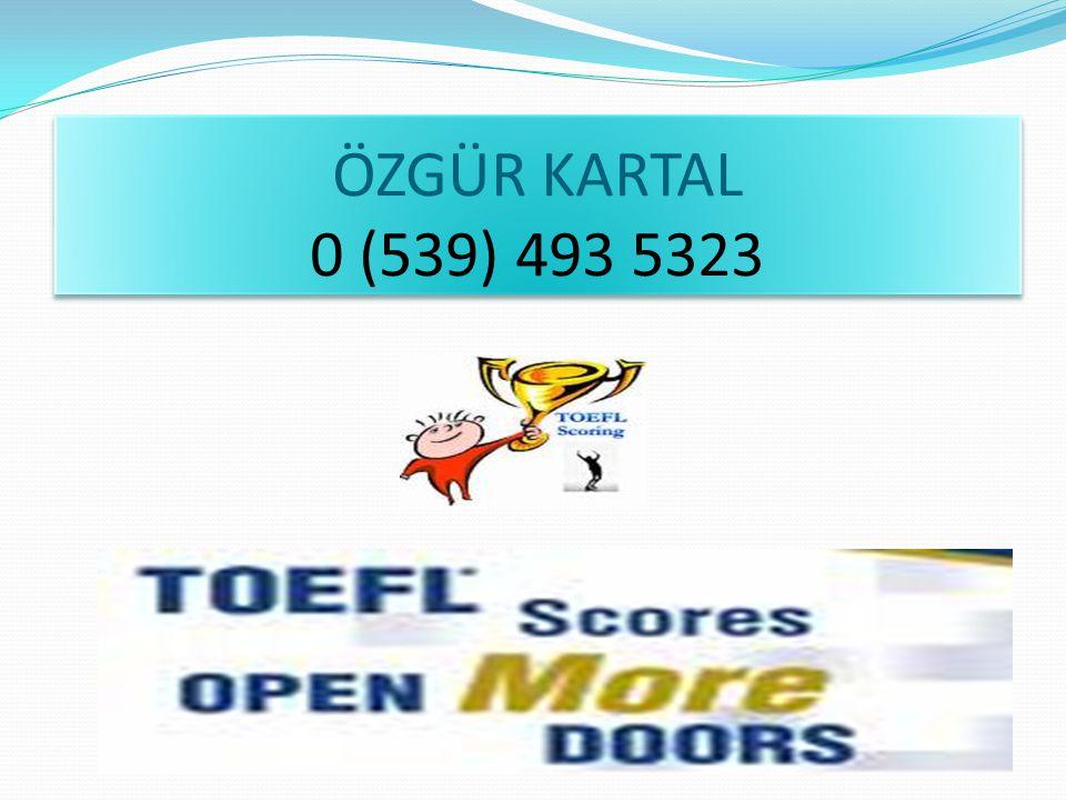 ÖZGÜR KARTAL 0 (539) 493 5323
