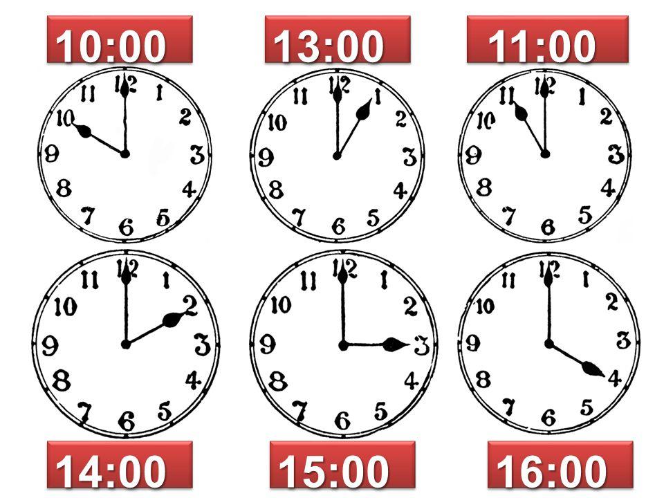 10:0010:0013:0013:00 11:00 11:00 14:0014:0015:0015:0016:0016:00