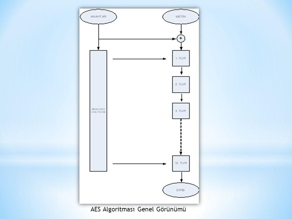AES Algoritması Genel Görünümü