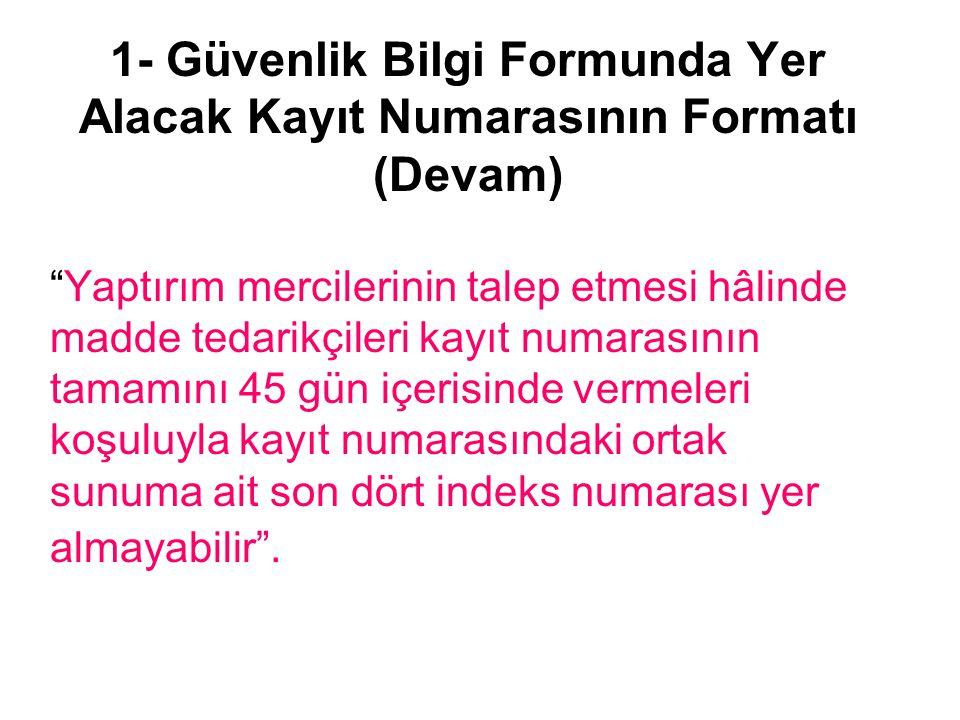 2- Krom +6 İçeren Çimentoların Üçüncü Ülkelerden İthalatı Komisyon Türkiye'den ithal edilen çimento içindeki Cr +6 içeriği yüksek İtalya ve Yunanistan'dan bilgi talebi Bulgaristan'ın konuyu açıklaması İtalya'nın açıklamaları Yunanistan'ın açıklamaları Türkiye'nin cevabı Komisyonun cevabı