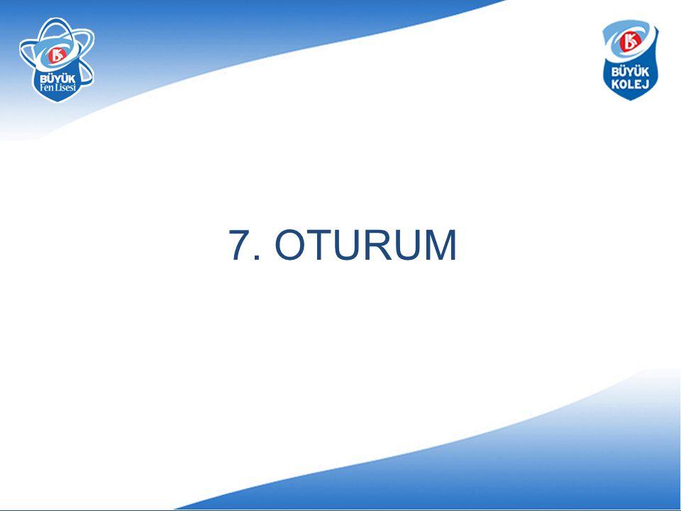 7. OTURUM