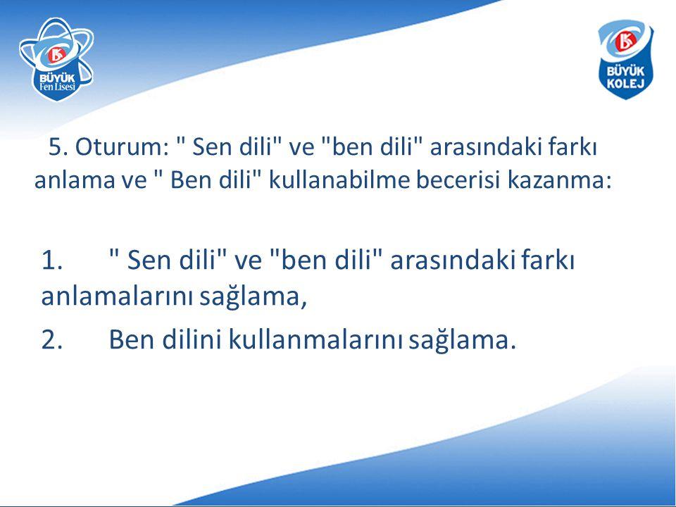 5. Oturum: