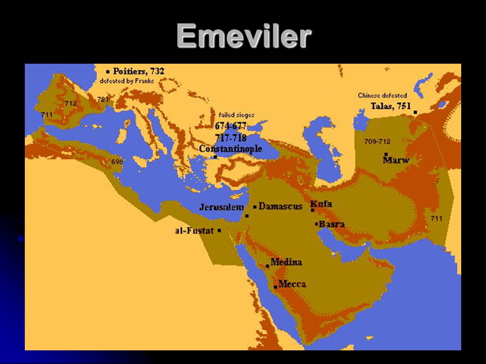 Emeviler