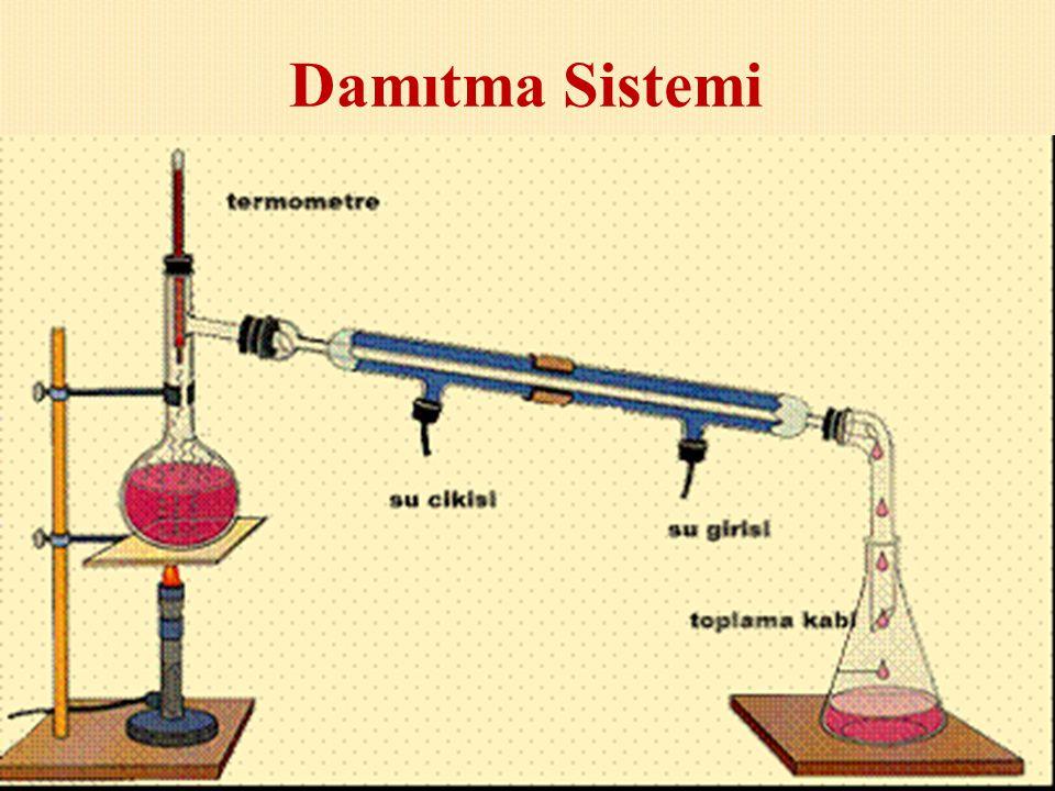 Sıvıların oluşturduğu homojen karışımları ayırmak için kullanılan bir yöntemdir. Bu yöntemde sıvıların kaynama sıcaklıkları farkından yararlanılır. Ör