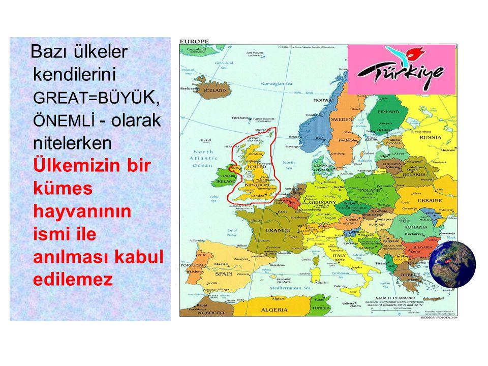 Diyorlar ki ;Türkiye kelimesinde bulunan Ü harfi Avrupa dillerinde yokmuş.