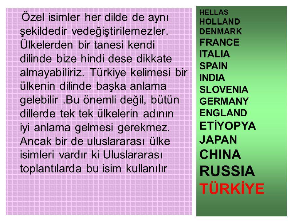 REPUBLİC OF TURKEY HİNDİ CUMHURİYETİ TURKEY