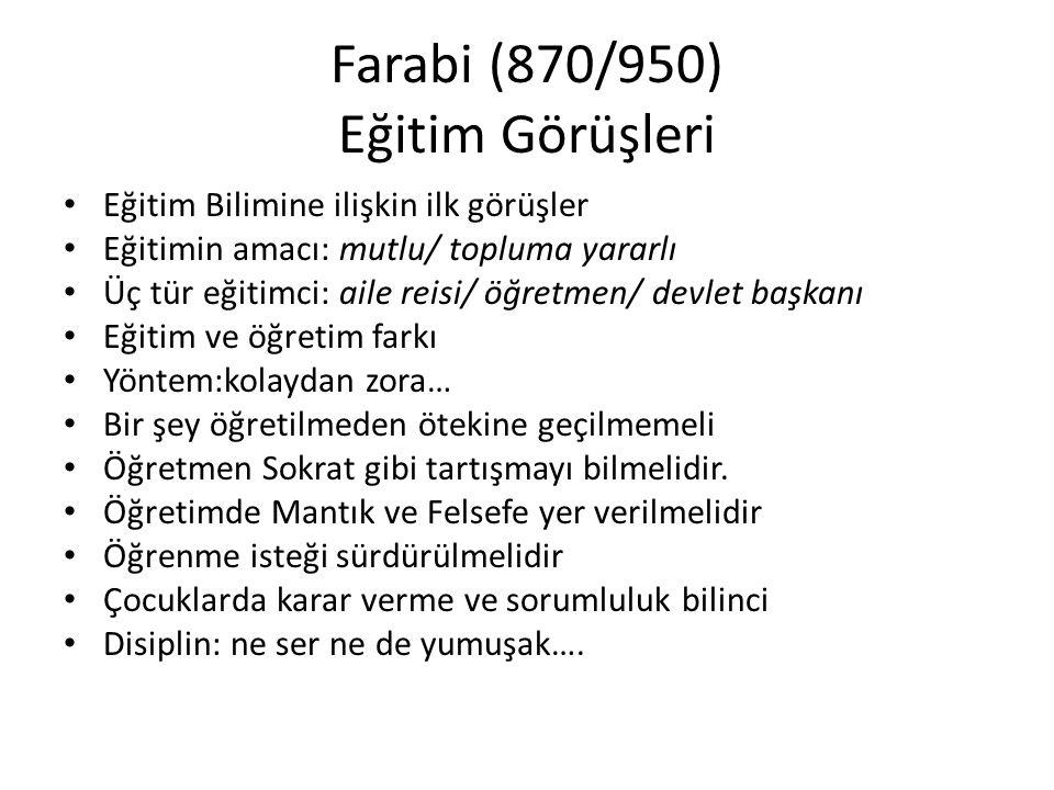 Farabi (870/950) Araştırma Yöntemi ve… Bilimsel yöntem: her meselede aranan kesin gerçeği elde etmektir.