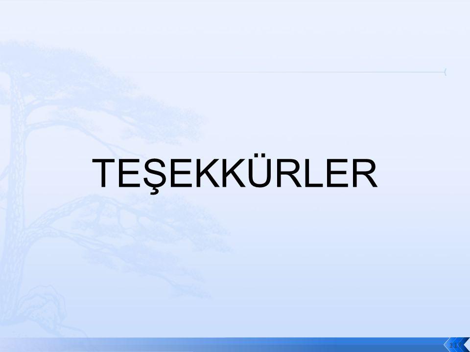 TEŞEKKÜRLER 117