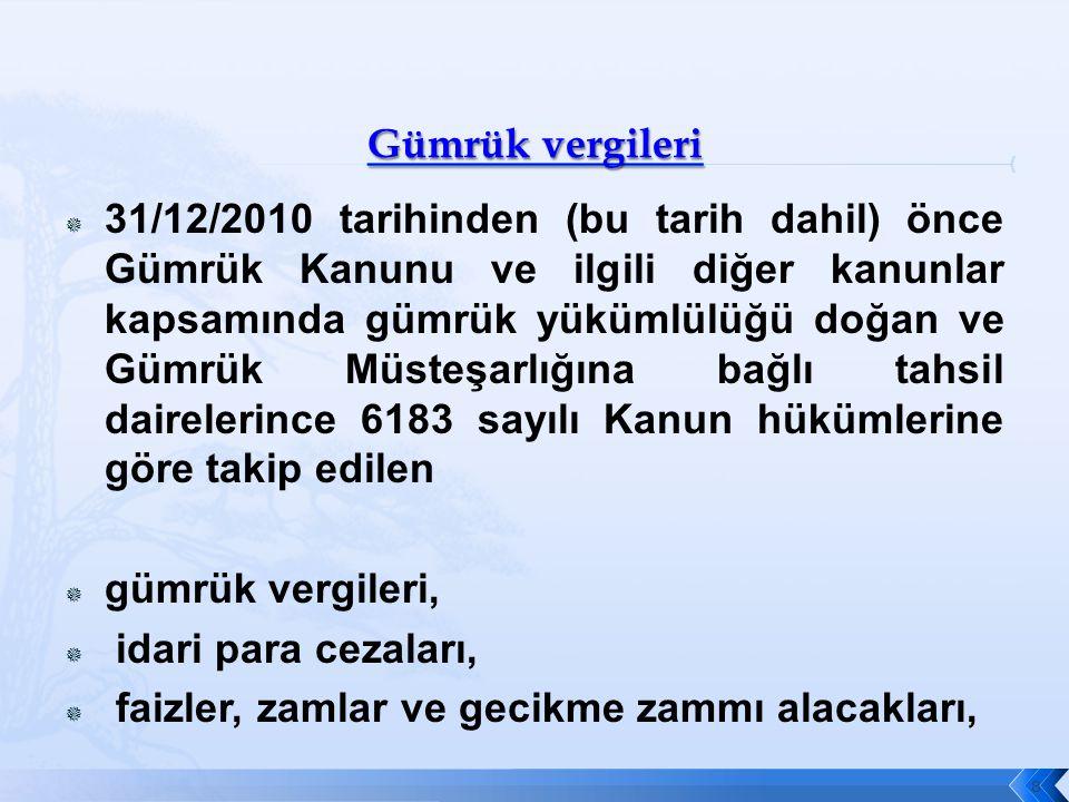 KANUNUN YAYIMLANDIĞI TARİHİ İZLEYEN 2.