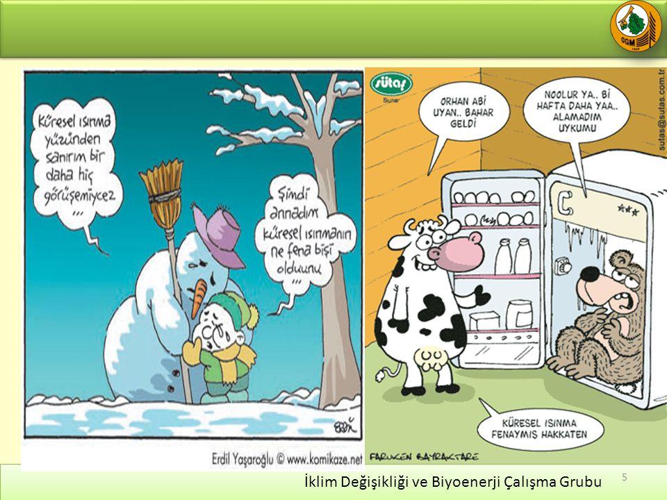 İklim Değişikliği ve Biyoenerji Çalışma Grubu 5