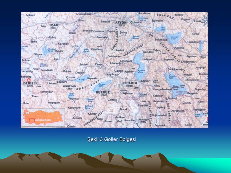 Şekil 3 Göller Bölgesi