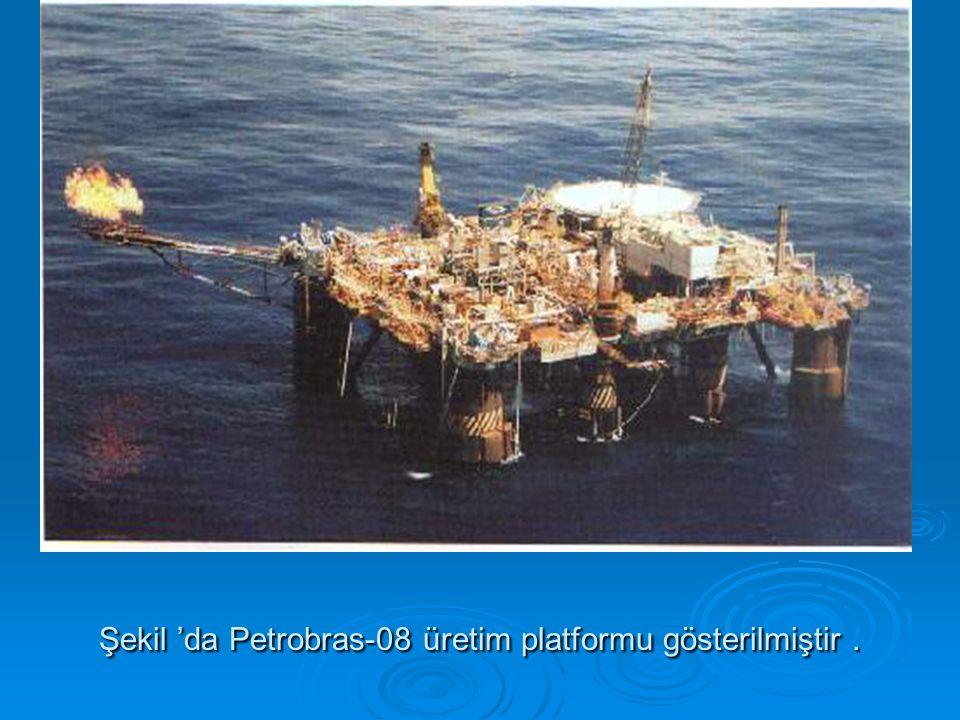 Şekil 'da Petrobras-08 üretim platformu gösterilmiştir.