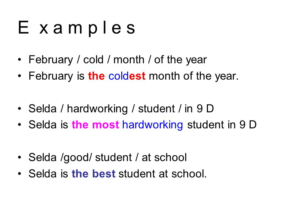 February / cold / month / of the year February is the coldest month of the year.