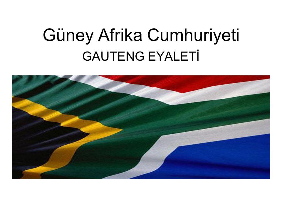 Güney Afrika Cumhuriyeti GAUTENG EYALETİ