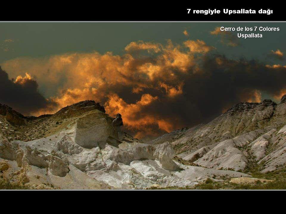 7 rengiyle Upsallata dağı