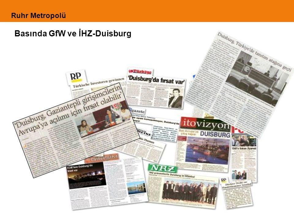 Basında GfW ve İHZ-Duisburg Ruhr Metropolü