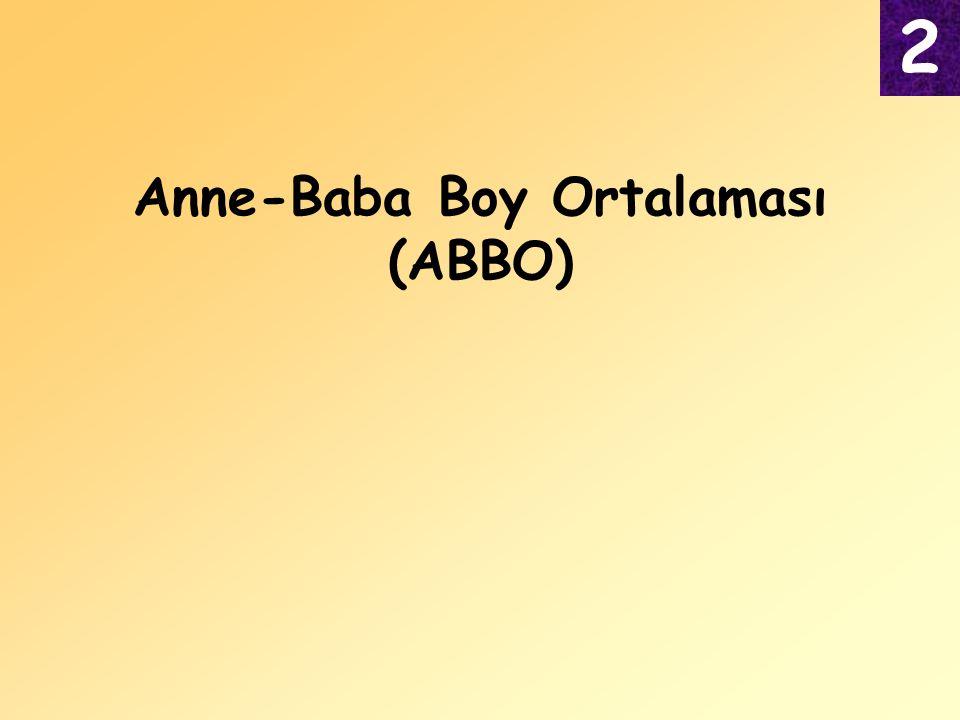 Anne-Baba Boy Ortalaması (ABBO) 2