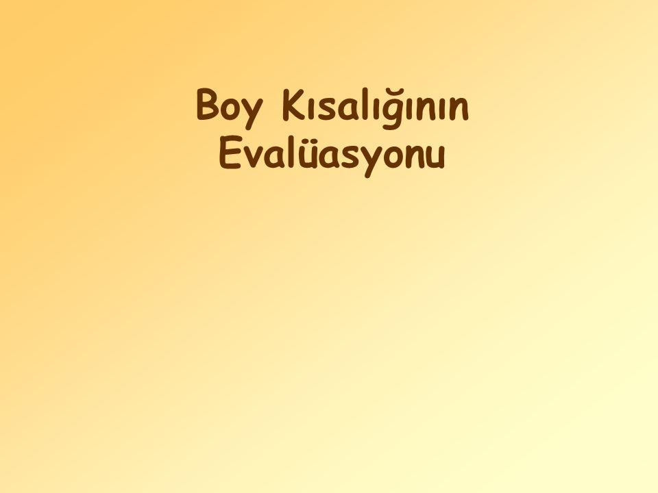 Boy Kısalığının Evalüasyonu