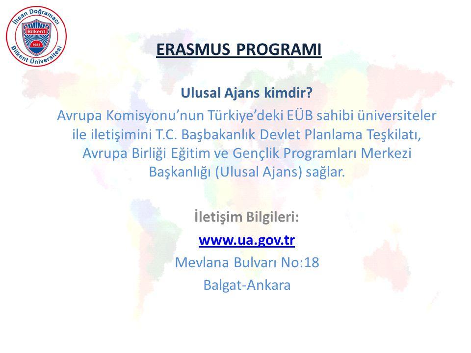 ERASMUS PROGRAMI Ulusal Ajans kimdir.