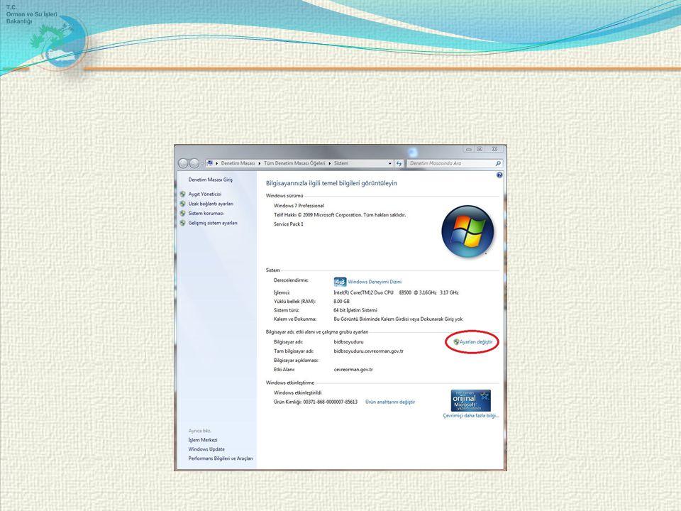 Bilgisayarı domaine alırken sorulan kullanıcı adı şifre kısmına kimin kullanıcı adı şifresini girmeliyim .
